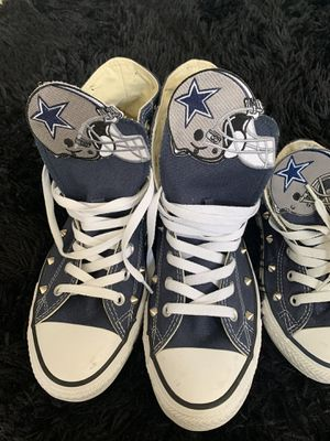 Cowboys Chuck Taylors for Sale in Frisco, TX