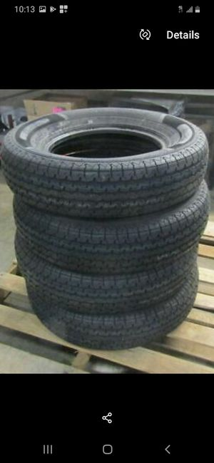St205/75r14 6ply durun trailer tires 90%life for Sale in Chula Vista, CA