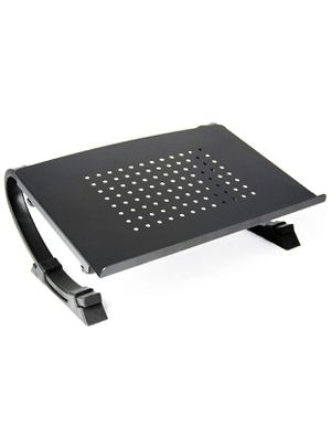Black Fully Adjustable Curved Laptop iPad & Monitor Riser table Stand for Sale in Largo, FL