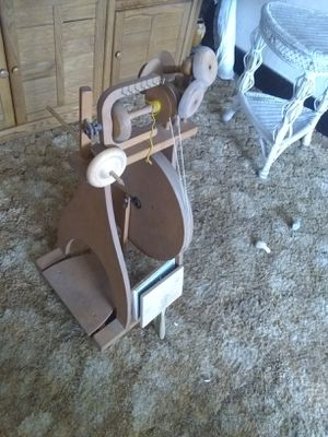 Clemes and clemes spinning wheel for Sale in Portland, MI