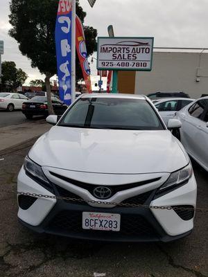 2018 TOYOTA CAMRY SE 43K $19,598 for Sale in ALAMEDA, CA