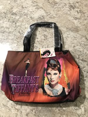 Breakfast At Tiffany's Purse ,handbag,tote. ,overnight bag for Sale in Alafaya, FL