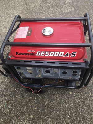 Kawasaki Generator for Sale in Lynnwood, WA