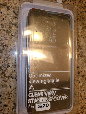 Samsung Galaxy S20 phone case flip phone case silver for Sale in Rancho Cucamonga, CA