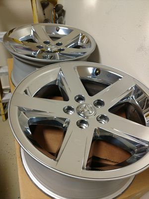 20 inch Dodge rims ( rims only ) for Sale in Cypress, TX