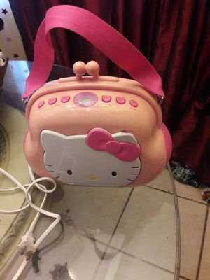 HELLO KITTY AM FM RADIO AND CD PLAYER for Sale in Santa Ana, CA