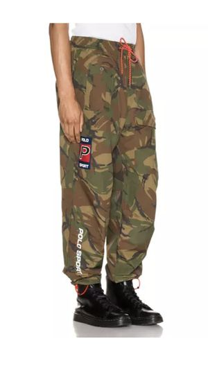 Polo Sport Ralph Lauren Sportsman Waterproof Camo Cargo Utility Hi-Tech Pants for Sale in Oak Lawn, IL