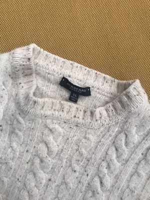 Authentic BURBERRY Cable Knit Sweater Made in Italy! for Sale in Alameda, CA