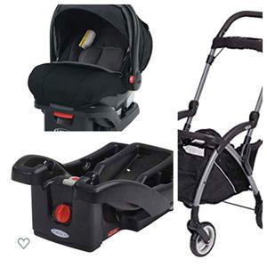 Graco SnugRide SnugLock 35 XT Infant Car Seat Bundle for Sale in NEW PRT RCHY, FL
