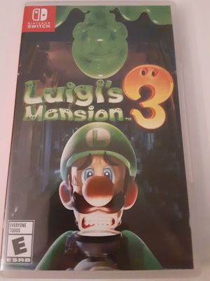 Luigis Mansion 3 100% Complete For Nintendo Switch NEW for Sale in Braintree, MA