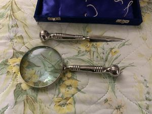 Magnifying glass letter opener set , new for Sale in Grottoes, VA