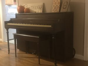Antique piano with real ivory keys for Sale in Warrenton, VA