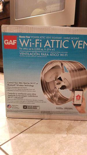 WI-FI ATTIC VENT for Sale in Arlington, TX