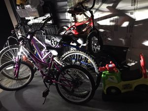 PurpleHuffy bike , blue bca bike and red huffy. For sale 100$ firm on price for all together for Sale in Eagle Lake, FL
