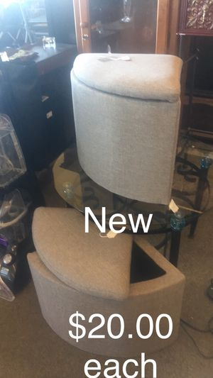 Storage Stool (New) (each) for Sale in Saint Robert, MO
