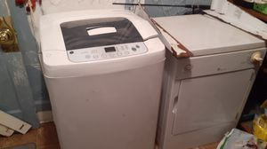 Portable washer and dryer needs new hose to drain only getting rid of it cuz I upgrade it to full size obo just want it gone for Sale in South Corning, NY