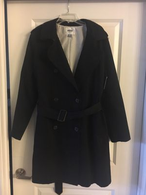 Women's New Black Pea Coat (w/ tags) for Sale in Annandale, VA
