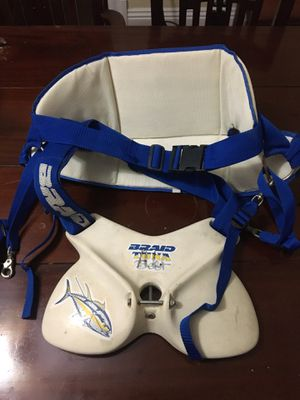 Fishing harness and belt for Sale in Upland, CA