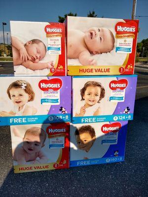 Huggies huge value diapers for Sale in West Jordan, UT