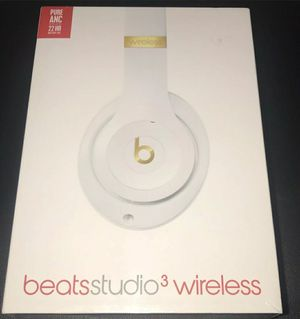Beats Studio 3Wireless Headphones White for Sale in Selma, CA