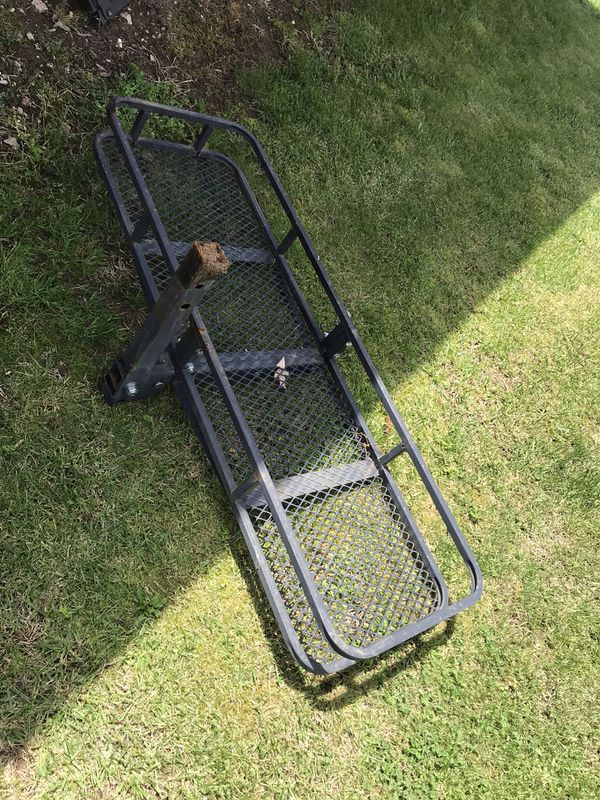 Car/truck rear Cargo basket and step