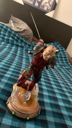 Deadpool unmasked statue for Sale in Rialto, CA