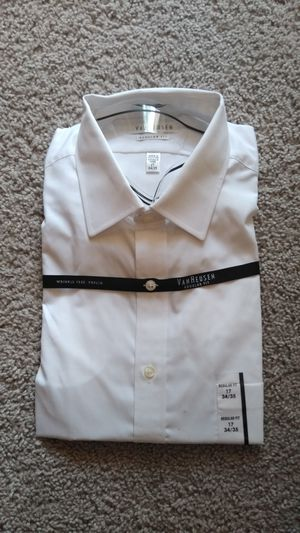 New Beautiful Van Heusen Shirt , men's size 17 - 34/35 ( new with tag ) for Sale in Frederick, MD