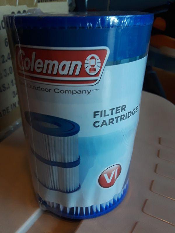 Lot of 8 Coleman Hot Tub Filter Cartridge IV