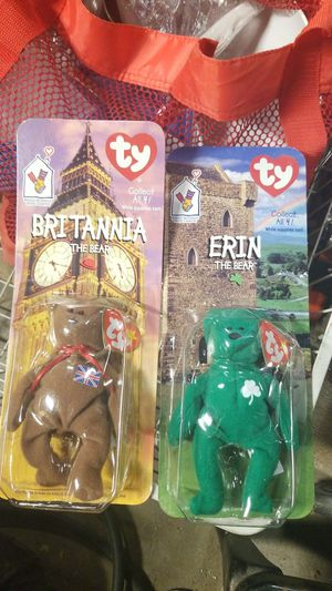 Rare ty beanie babies with errors for Sale in Palmdale, CA