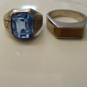 (2) Sterling Silver Mens Rings for Sale in Oklahoma City, OK