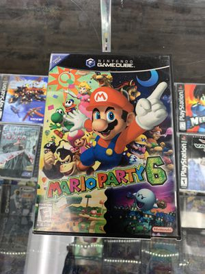 Mario party 6 $65 Gamehogs 11am-7pm for Sale in Monterey Park, CA