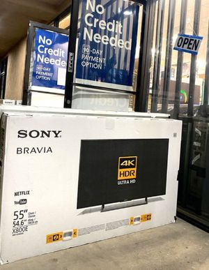 """55"""" SONY XBR UHD HDR SMART TV for Sale in Grand Terrace, CA"""