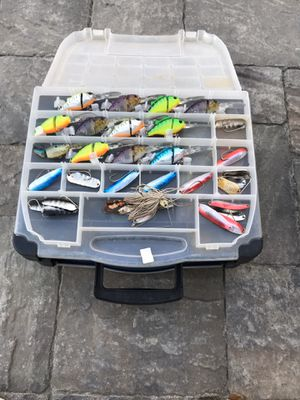 Fishing tackle box for Sale in Tracy, CA