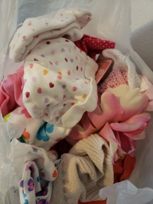Free baby girl hats for Sale in Rowlett, TX