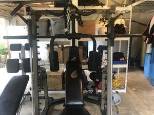 Nautilus Smith Machine PLUS a whole set of extras! for Sale in Auburn, WA