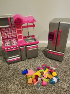 Our generation doll fridge sink/stove/microwave for Sale in Ellicott City, MD