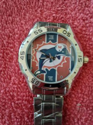 NFL..Miami Dolphins..Custom..Wrist Watch.. for Sale in Seminole, FL