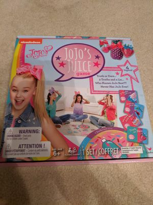 JoJo's juice game - 4 games for Sale in Marietta, GA