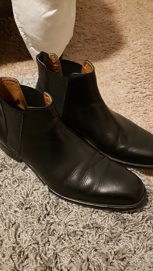 Aldo black boots size 10.5 for Sale in Manteca, CA