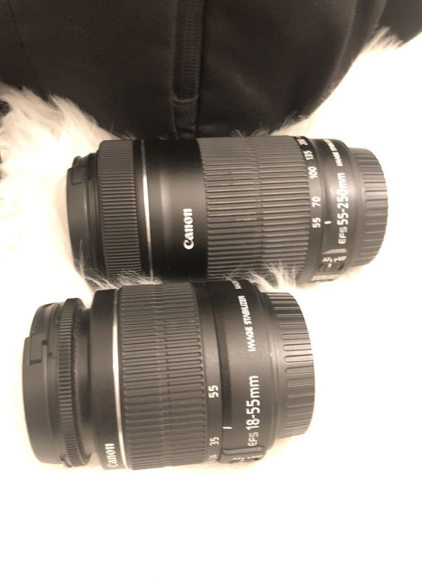 Canon Rebel T5 w/Carrying Case & 2 lenses