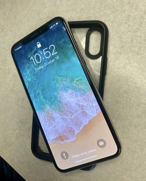 Tmobile IPHONE X 64gb (unlocked) for Sale in Tampa, FL