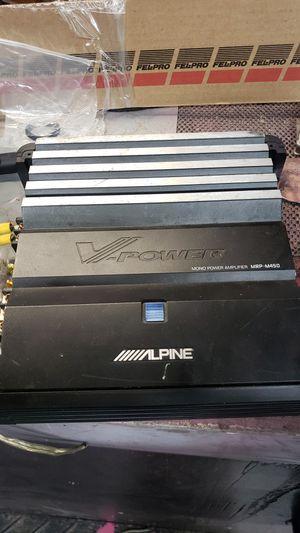 Alpine amp for Sale in Columbus, OH
