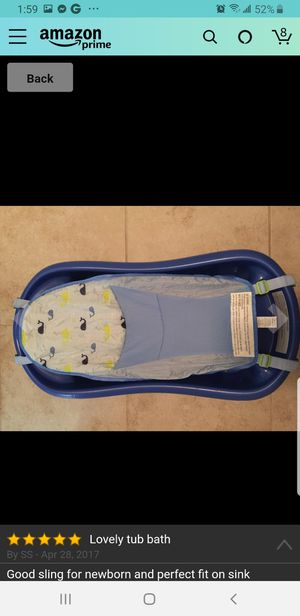 Baby Bathtub - newborn to toddler for Sale in Jersey City, NJ