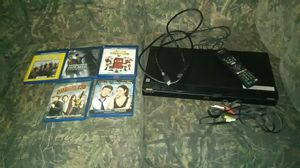 Sony blue ray DVD player and dads and hook ups and remote control for Sale in Welch, WV