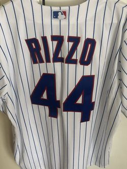 Anthony Rizzo Chicago Cubs Majestic Men's Coolbase Jersey XL for Sale in Chicago,  IL