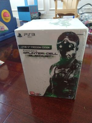The 5th freedom edition aTom Clancy's SPLINTER CELL BLACKLIST for Sale in Fort Worth, TX
