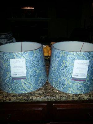 2 medium sized lampshades for Sale in Lodi, CA