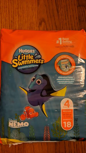 Huggies Little Swimmers Size 4 for Sale in Canton, CT