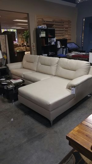 Sofa with chaise lounger for Sale in Portland, OR