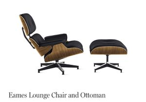 Brand new Charles & Eames lounge chair & ottoman for Sale in New York, NY